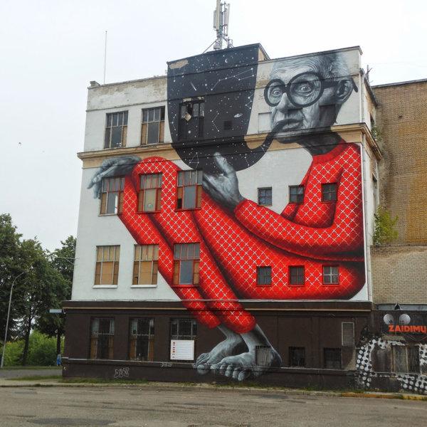 Litwa pozostałość po fabryce butów