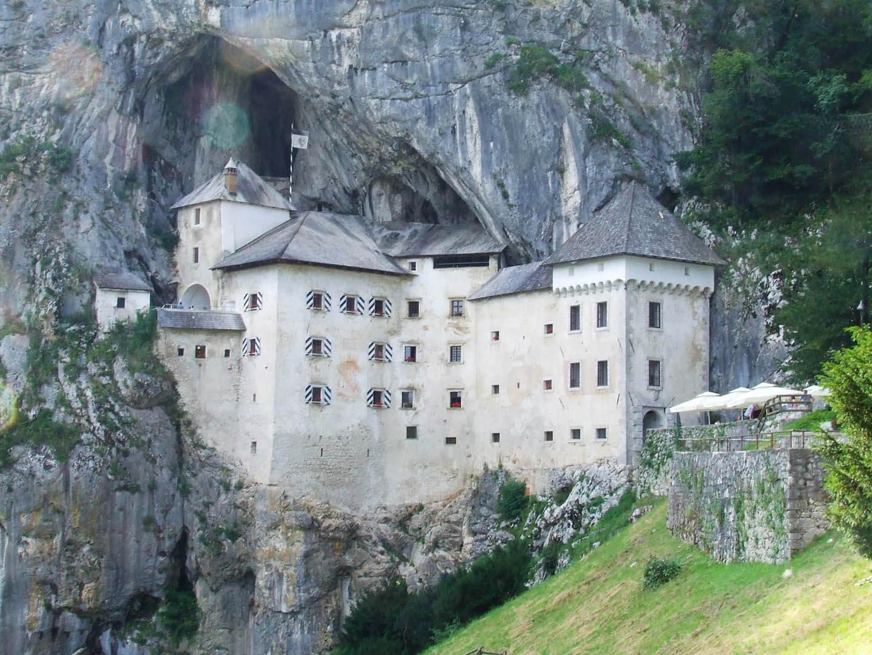 Słowenia Zamek Priedjamski